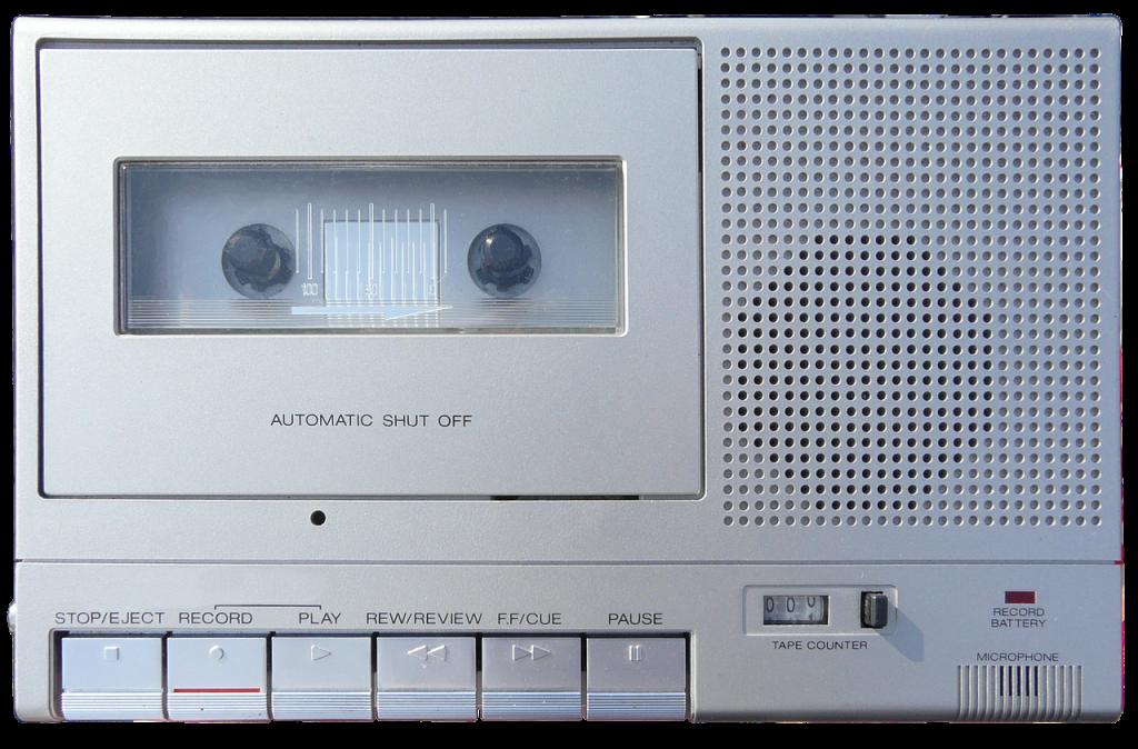 grabadora de casete