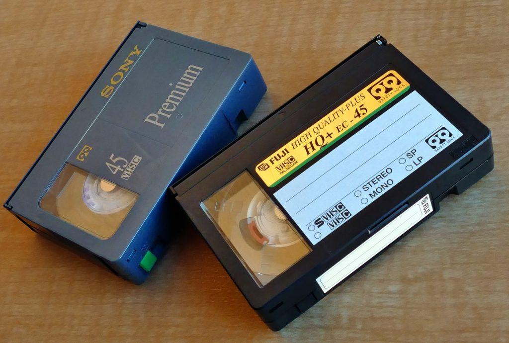 cintas de casete de sony